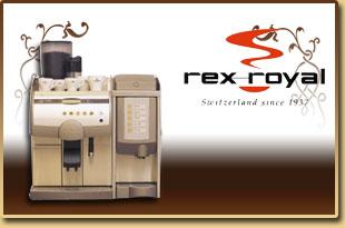 Rex Royal Coffee machines