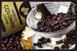 Merillo Columbia Black Bohnenkaffee